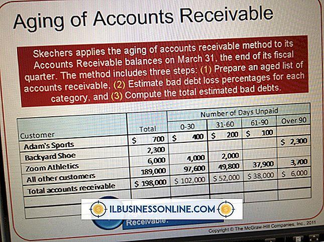 लेखा और बहीखाता - खराब ऋण भत्ता को मापने के दो अलग-अलग तरीके