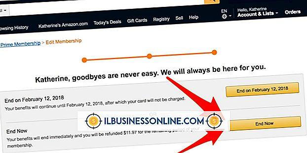 Buchhaltung & Buchhaltung - So kündigen Sie Amazon Prime ab