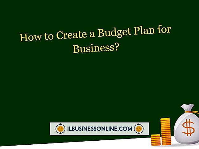 Wie schreibe ich ein Business Budget?