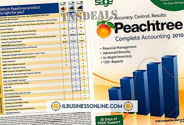 So deinstallieren Sie Peachtree Complete Accounting Version 11
