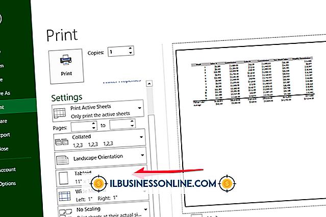 Kategorie Buchhaltung & Buchhaltung: Wie erkenne ich die Breite eines Papiers in Excel?
