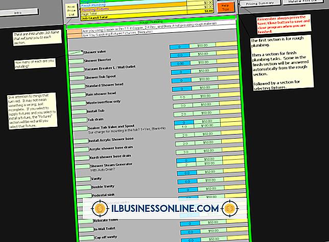 Kategorie Buchhaltung & Buchhaltung: So schreiben Sie eine Stücklistenliste in Excel