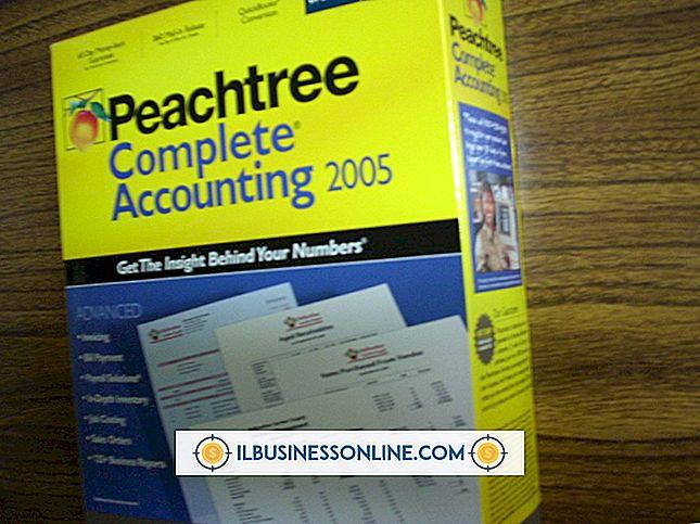 Buchhaltung & Buchhaltung - So führen Sie ein Upgrade von Pro auf Peachtree Accounting durch