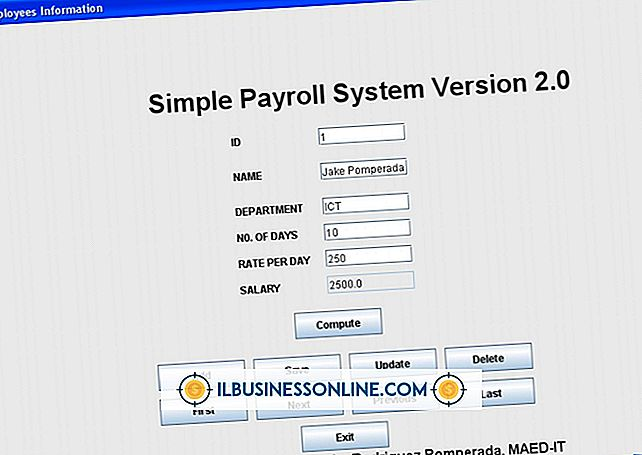 Categoría contabilidad y contabilidad: Ejemplo de un sistema de nómina