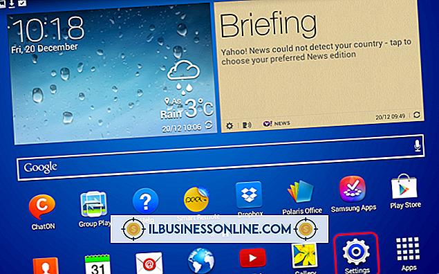 Samsung Intercept'te E-posta Adresinizi Nasıl Değiştirirsiniz?