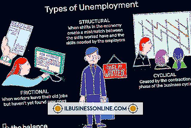 Buchhaltung & Buchhaltung - Arbeitslosen- und Sparkonten