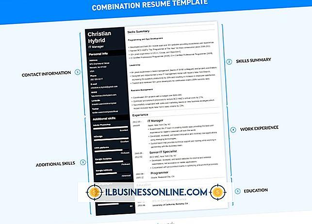regnskap og bokføring - Typer formater for CV