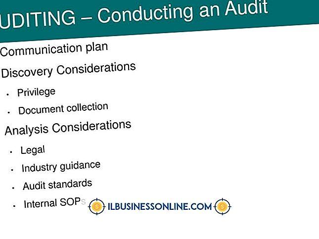 Diretrizes para a realização de uma auditoria de projeto