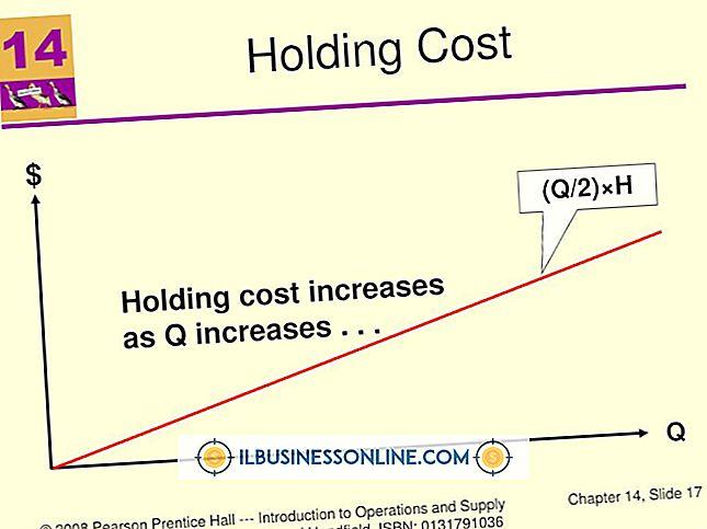 होल्डिंग लागत और समान लागत वहन कर रहे हैं?