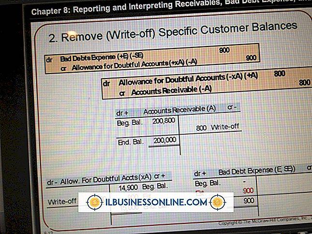Cómo tomar off offs en contabilidad