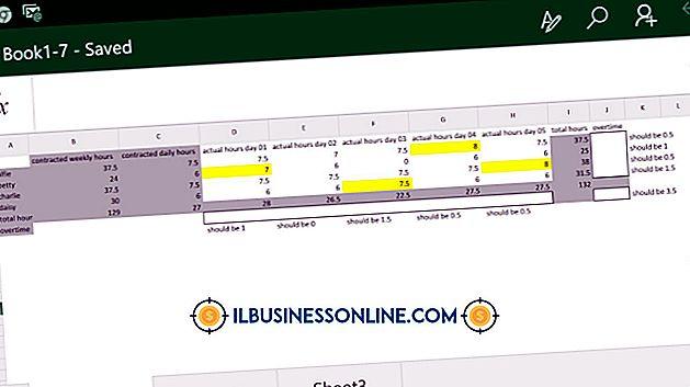 Ücretler ve Fazla Mesai için Excel Formülü