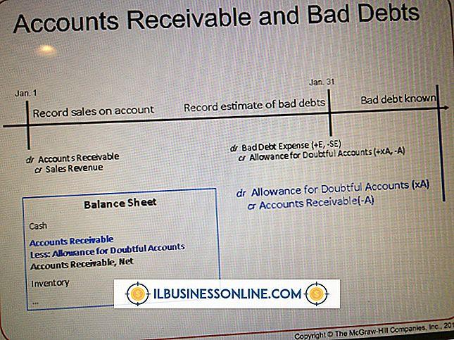 Buchhaltung & Buchhaltung - Was ist eine uneinbringliche Forderung?