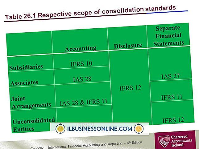 Eksempler på konsolidering i avansert regnskap