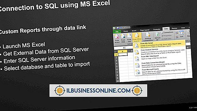 Cómo usar declaraciones SQL en MS Excel