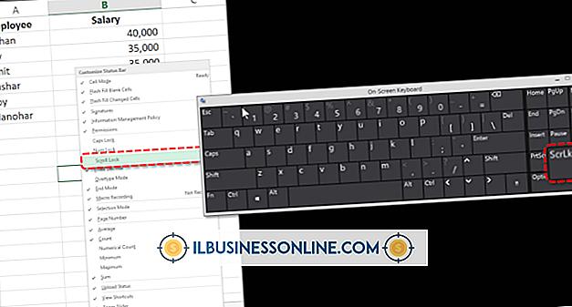 Buchhaltung & Buchhaltung - So entsperren Sie ein Diagramm in Excel