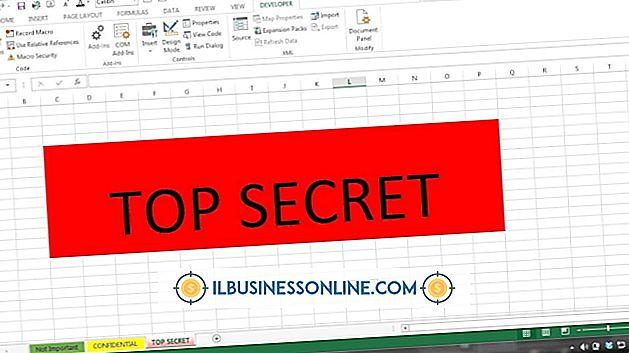 Kategori regnskap og bokføring: Slik skjuler du flere faner i Excel 2007