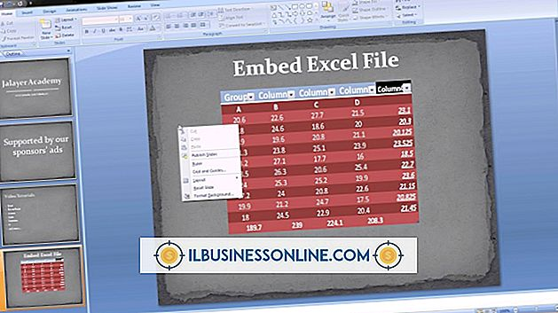 Bilder in Excel einbetten