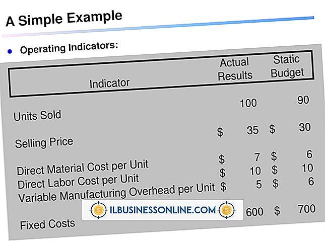 Was sind einige Beispiele für Budgetabweichungen?