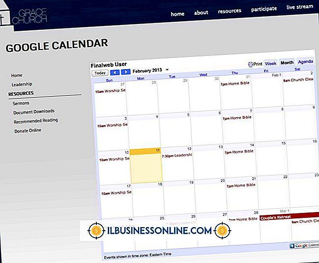 Så här lägger du in din Yahoo-kalender på en webbsida