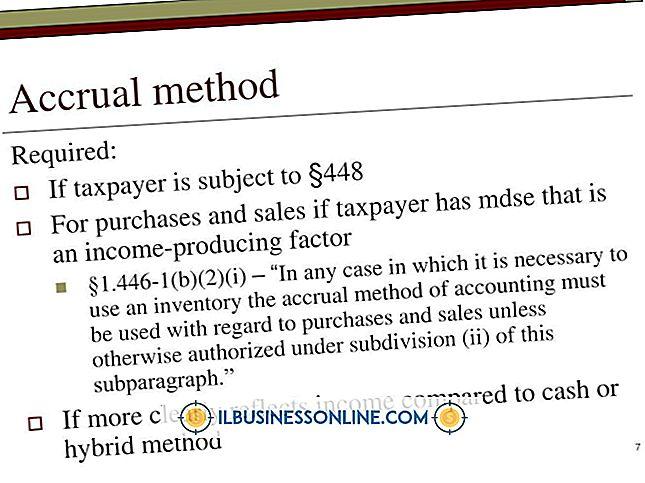 नकद और क्रमिक विधि के उदाहरण