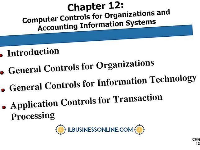Categorie boekhouding en boekhouding: Het gebruik van informatiesystemen en boekhouding