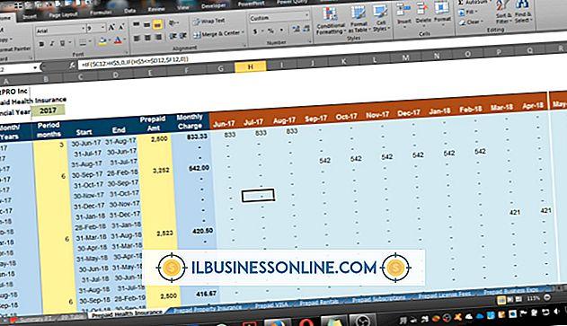 Sådan bruges Excel til GAAP Accounting