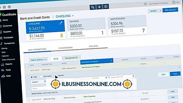 Kategorie Buchhaltung & Buchhaltung: So laden Sie die Bankaktivitäten für QuickBooks herunter