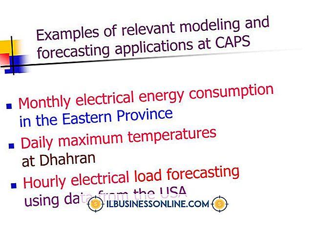 Beispiele für Prognosetechniken