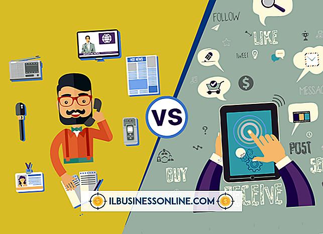 Kategori reklame og markedsføring: Forskelle mellem Traditionel Marketing Vs.  Cyber Marketing