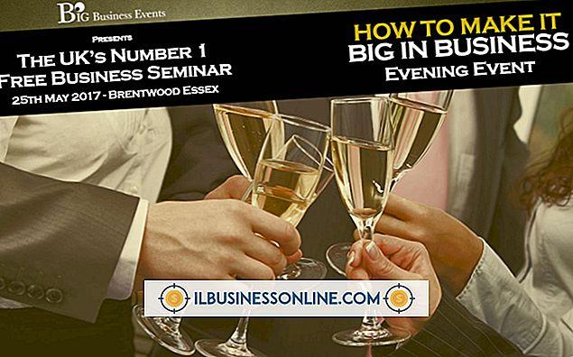 Como dar um seminário de negócios