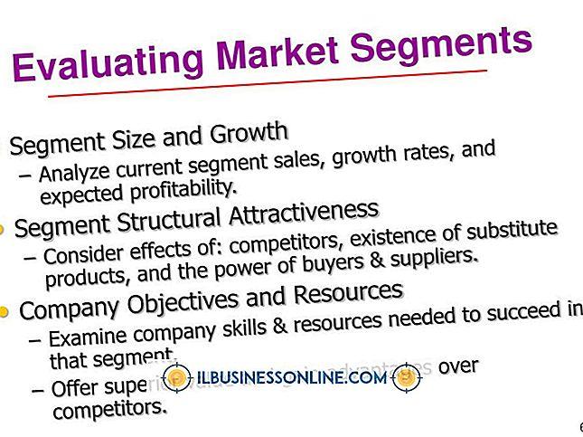 Cómo evaluar los segmentos de marketing