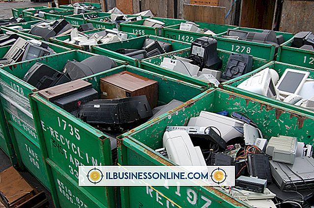 Elektroniska tillverkare och återvinning