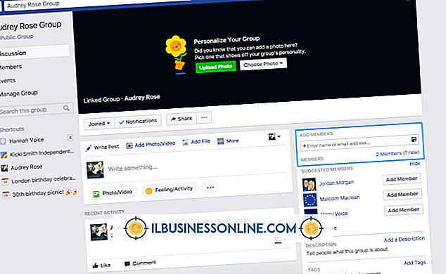 Kategori reklame og markedsføring: Hvordan linker jeg til en Facebook-gruppe?