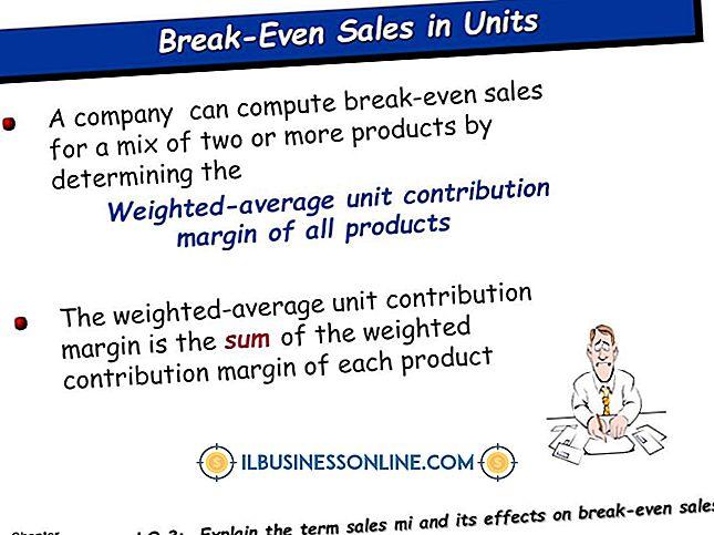 Wat is de gewogen gemiddelde bijdrage-marge in een break-even-analyse?