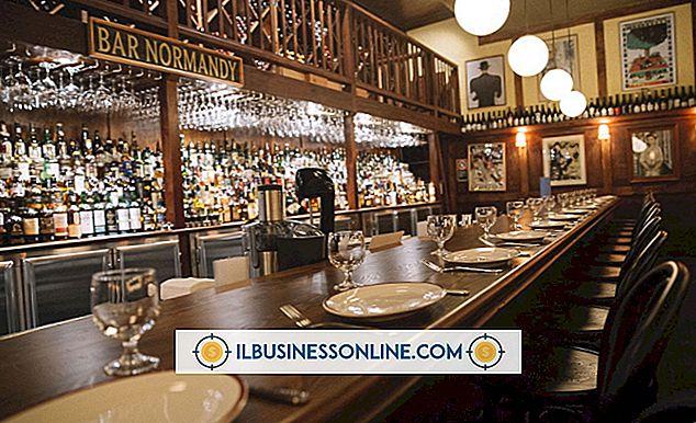 reclame marketing - Wat zijn soorten afdelingen die in een restaurant worden gebruikt?