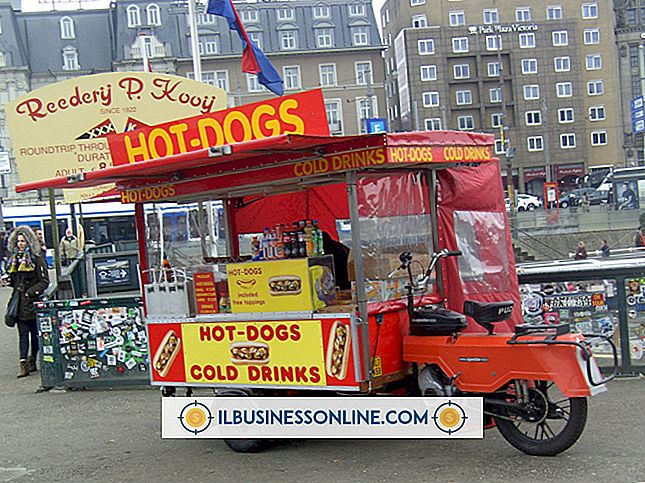 Kategorie Werbung & Marketing: Hot Dog Stand-Anforderungen