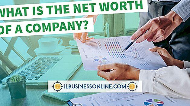 Wie schätzen Sie den Nettowert eines Unternehmens ein?