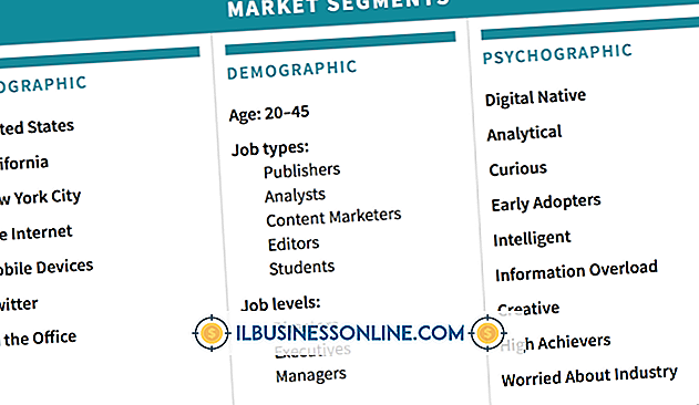 Beispiele für die Marktsegmentierung
