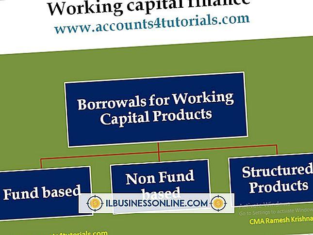 Arbeidskapital og produktsyklus