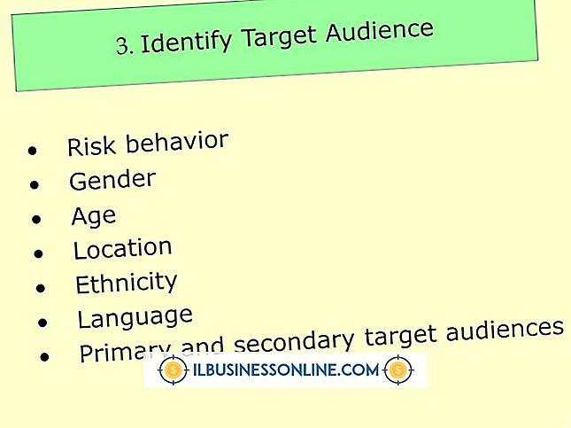 Categoria publicidade e marketing: Quatro níveis de público-alvo primário