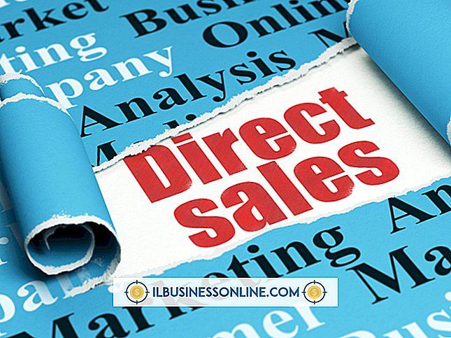 Werbemöglichkeiten für ein Direktverkaufsunternehmen