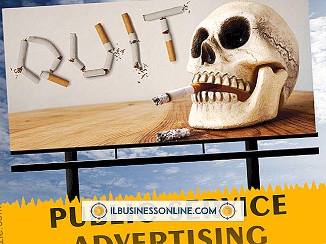 Exempel på Public Service Advertising