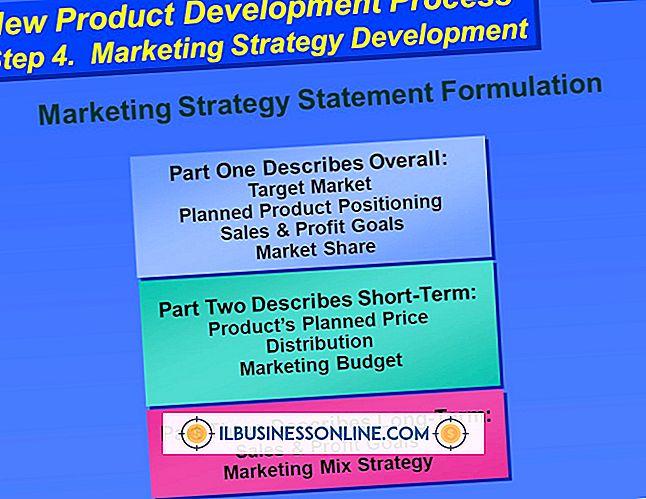 Kategorie Werbung & Marketing: So schreiben Sie ein Budget für ein neues Marketingprodukt