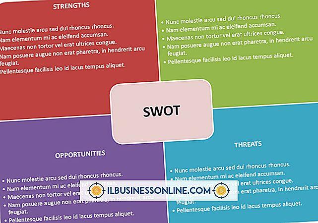 SWOT分析のフォーマット