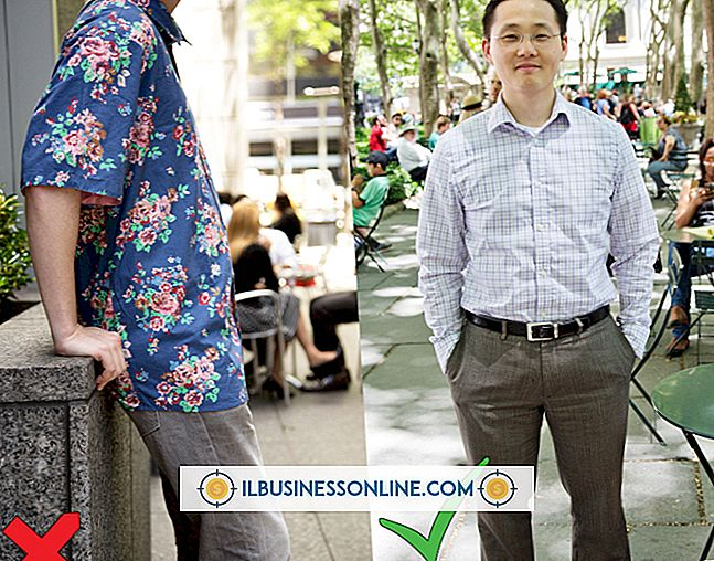 Don'ts av Dress Code i Business World for Men