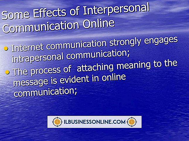 Die Auswirkungen der zwischenmenschlichen Kommunikation in einer Organisation