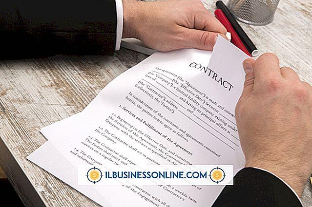 व्यापार संचार और शिष्टाचार - व्यापार में कानूनी अनुबंध के प्रकार