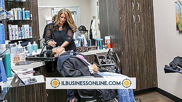 affärskommunikation och etikett - Vilken typ av verksamhet är skönhetssalonger?