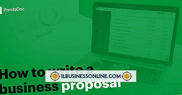 व्यवसाय प्रस्तावों के प्रकार