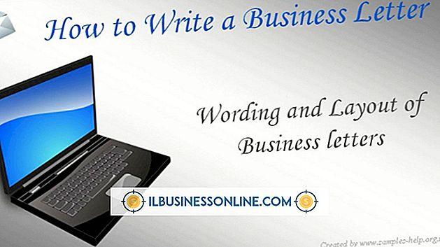 So schreiben Sie einen Brief für einen Geschäftsvorgang